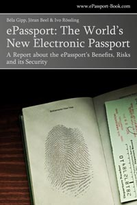 ePassport: Book Cover